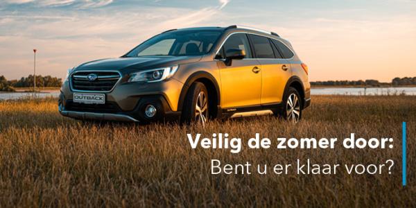 Zomercheck Subaru.